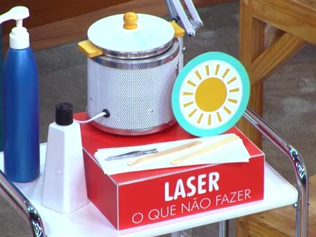 Saiba o que pode e não pode fazer durante o tratamento de depilação a laser