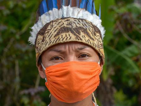 Povos indígenas recebem atendimento médico gratuito pela internet