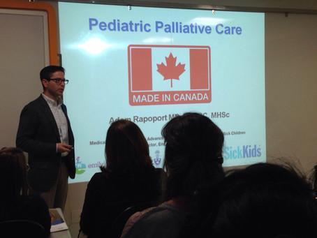 Workshop de Cuidados Paliativos em Pediatria recebe médico do renomado Hospital SickKids do Canadá