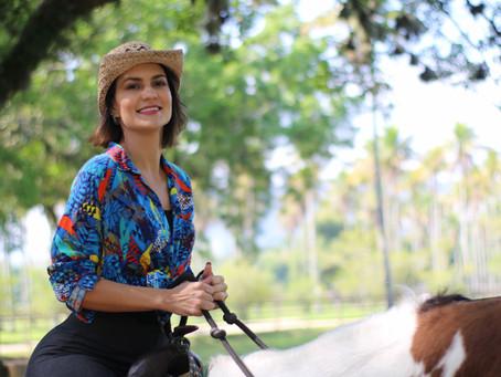 Paula Barbosa é destaque em O Globo
