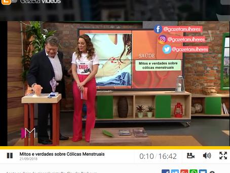 Tv Gazeta revela mitos e verdades sobre Cólicas Menstruais