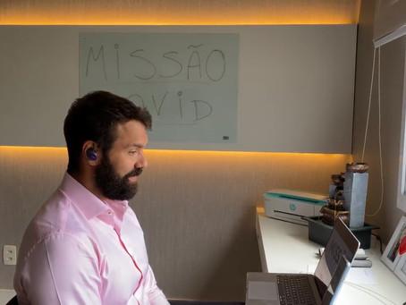 Missão Covid foi destaque na Rádio CBN