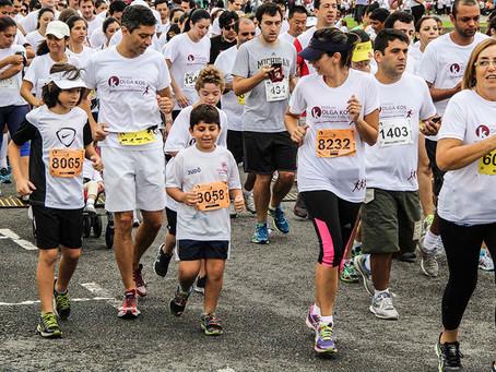 """Corrida e Caminhada """"Inclusão a Toda Prova"""" reúne atletas e participantes do Instituto Olga Kos"""