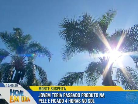 """Carol Narizinho revela problemas com bronzeamento artificial: """"Tenho 26 anos e não era para ter muit"""