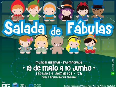 Musical Salada de Fábulas é destaque na Barra