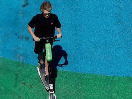 Acidente com patinete elétrico mata homem em Paris