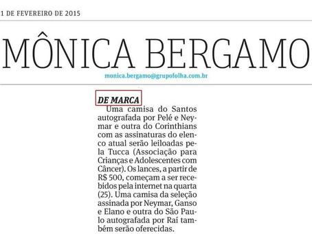 Coluna Monica Bergamo: leilão beneficente terá camisetas de grandes times brasileiros autografadas p