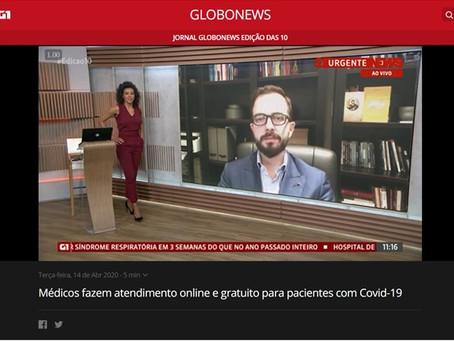 Médicos fazem atendimento online e gratuito para pacientes com Covid-19