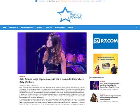 Gabi Amaral anuncia lançamento oficial do seu terceiro clipe nas redes digitais.