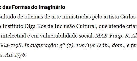 Instituto Olga Kos de Inclusão Cultural no Estadão