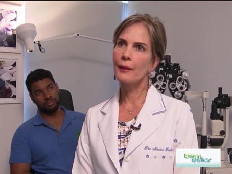 Jovem descobre doença da córnea em tenda da Sociedade Brasileira de Ceratocone em ação do Bem Estar