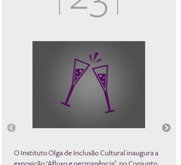 Instituto Olga Kos de Inclusão Cultural no Glamurama