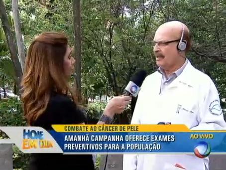 Cerca de 120 mil pessoas são diagnosticadas com câncer da pele por ano no Brasil