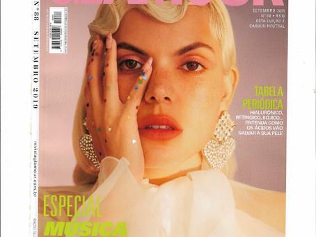A Revista Glamour falou sobre as funções dos ácidos