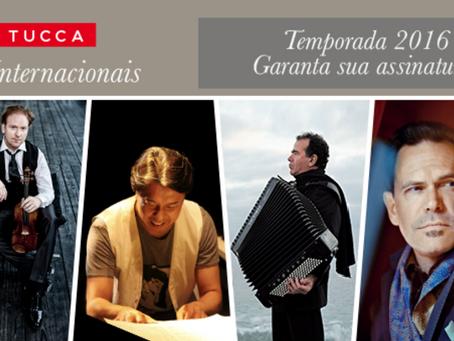 TUCCA lança a Temporada 2016 da série de Concertos Internacionais