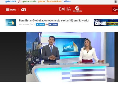 Salvador recebe Bem Estar Global acompanhado da Sociedade Brasileira de Ceratocone ,em projeto que o