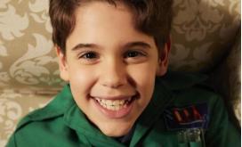 Stefano Agostini, o novo capa verde, chega para ajudar nas investigações da série DPA