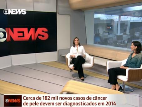 Cerca de 182 mil casos de câncer de pele devem ser diagnosticados em 2014