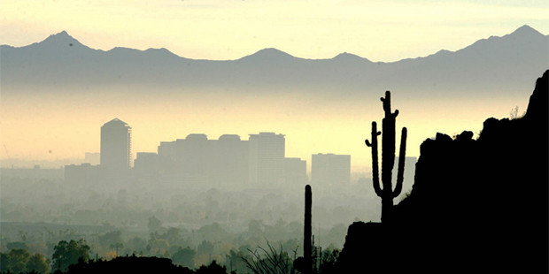 Population Booms and Pollution Woes: Air Quality in America's 5th Most-Populous City