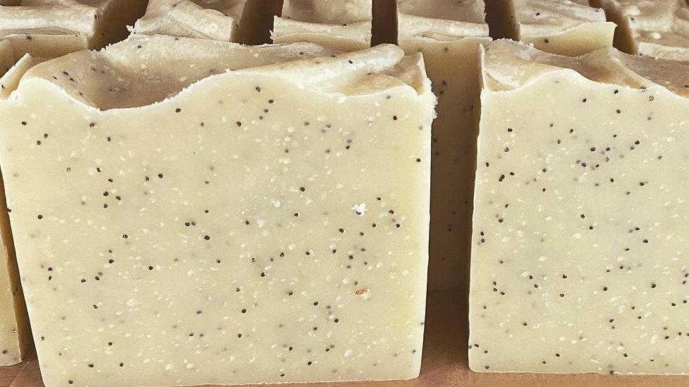 Astrid's Lemon Poppy Artisan Soap