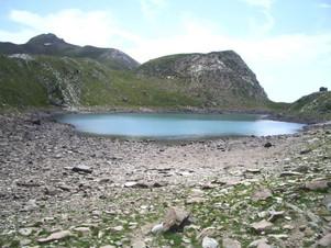 Le lac Brun