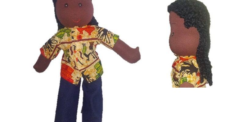 Tadeu Negro de Tranças Raiz