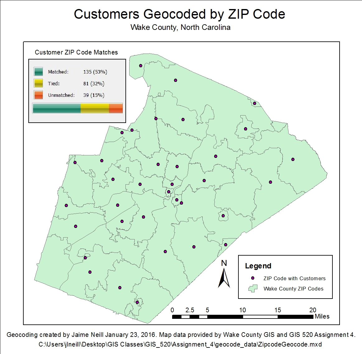 Geocoding Tabular Data | gis520