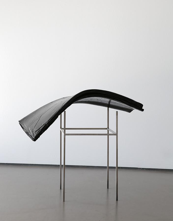 coal dust, resin, steel, 2015