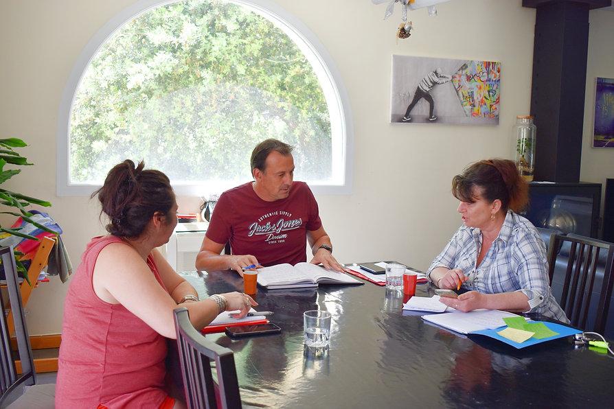 Réunion de travail préparation conseil municipal Sauveterre Avenir