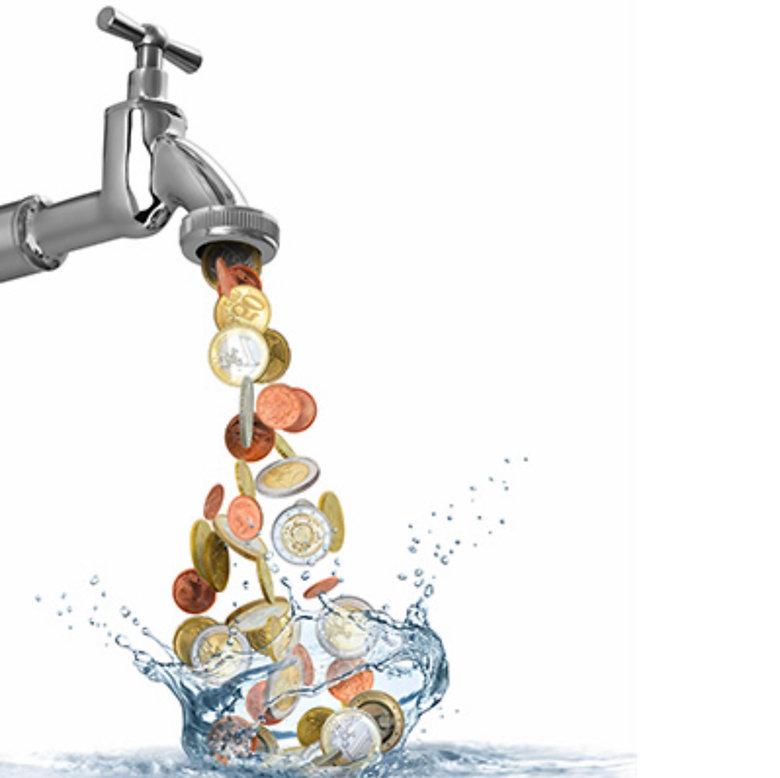 Le côut de l'eau du robinet