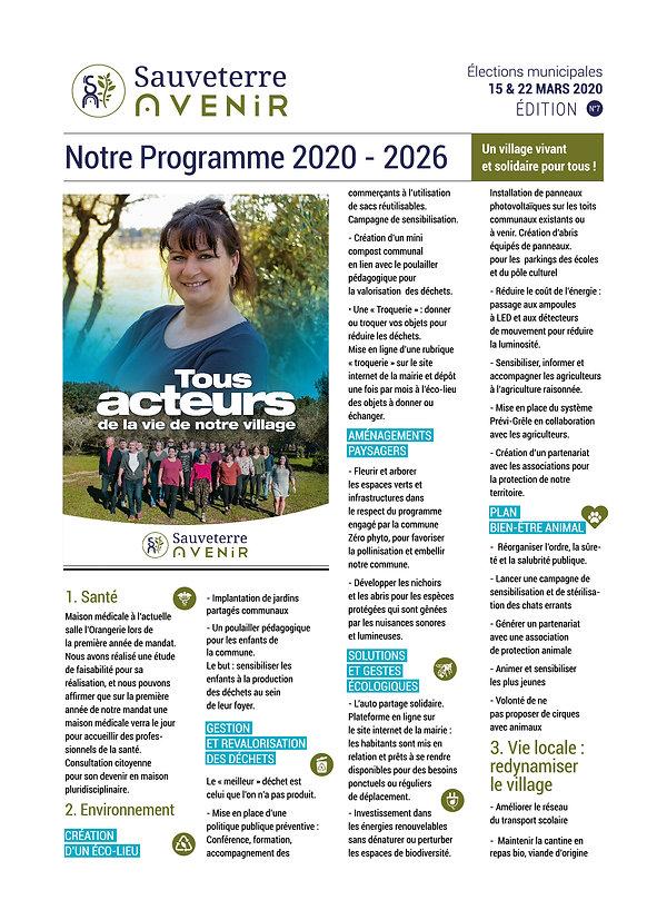 Programme Sauveterre Avenir, nos solutions, partie 1