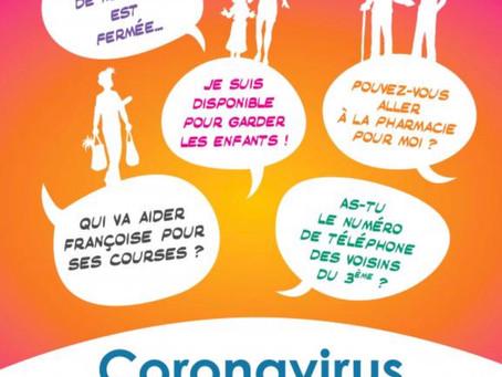 SOLIDARITÉ 2ème CONFINEMENT COVID-19