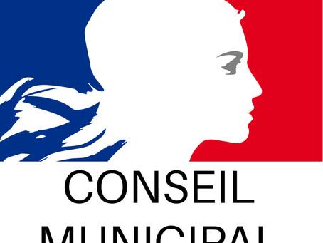 Conseil Municipal d'Octobre