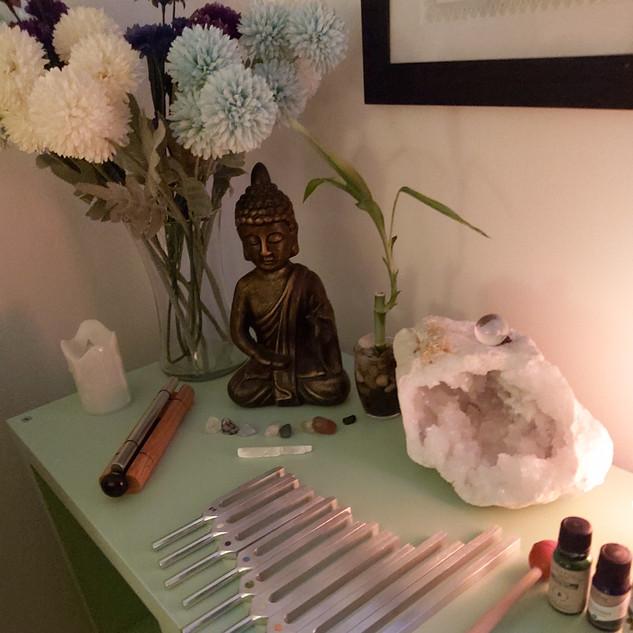 Sound Resonance and Crystal Healing