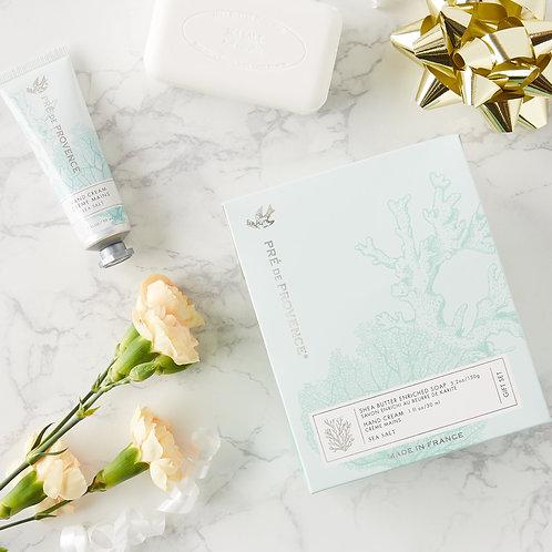 Soap & Hand Cream Gift Set - Sea Salt