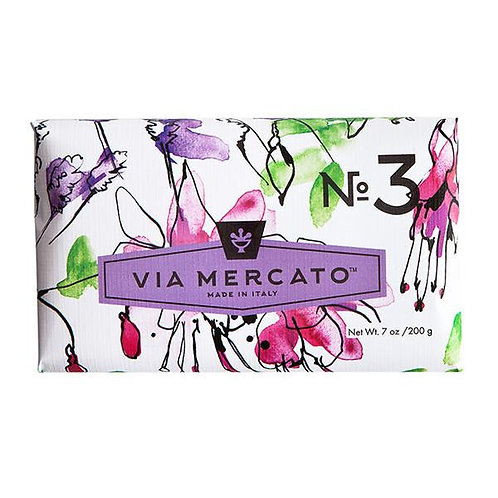 Via Mercato No.3 - Pepe Rosa, Lavender & Vanilla Bean
