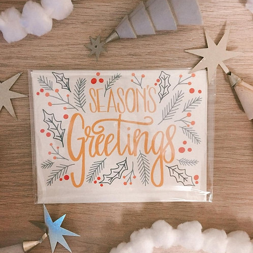 Kind Paper Cards - Christmas