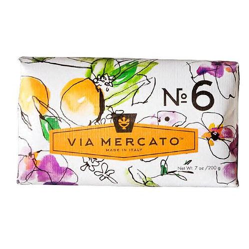 Via Mercato No.6 - Fig, Orange Blossom & Cedarwood