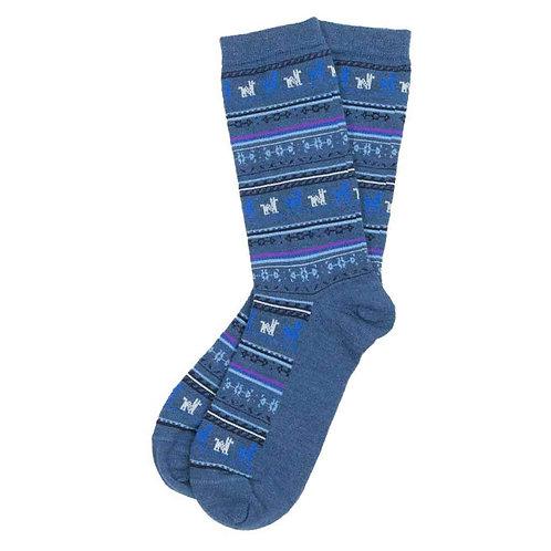 Print Alpaca Socks