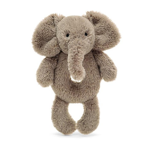 Smudge Elephant Ring Rattle