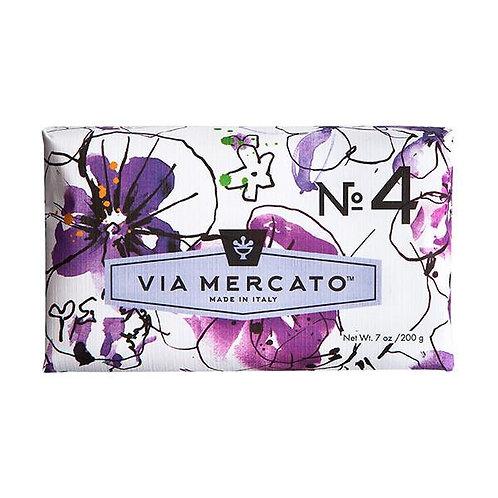 Via Mercato No.4 - Violets, Magnolia & Amber