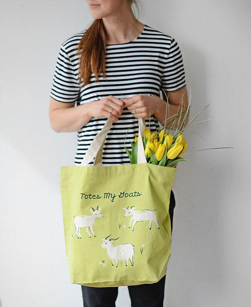 Goats - Tote Bag