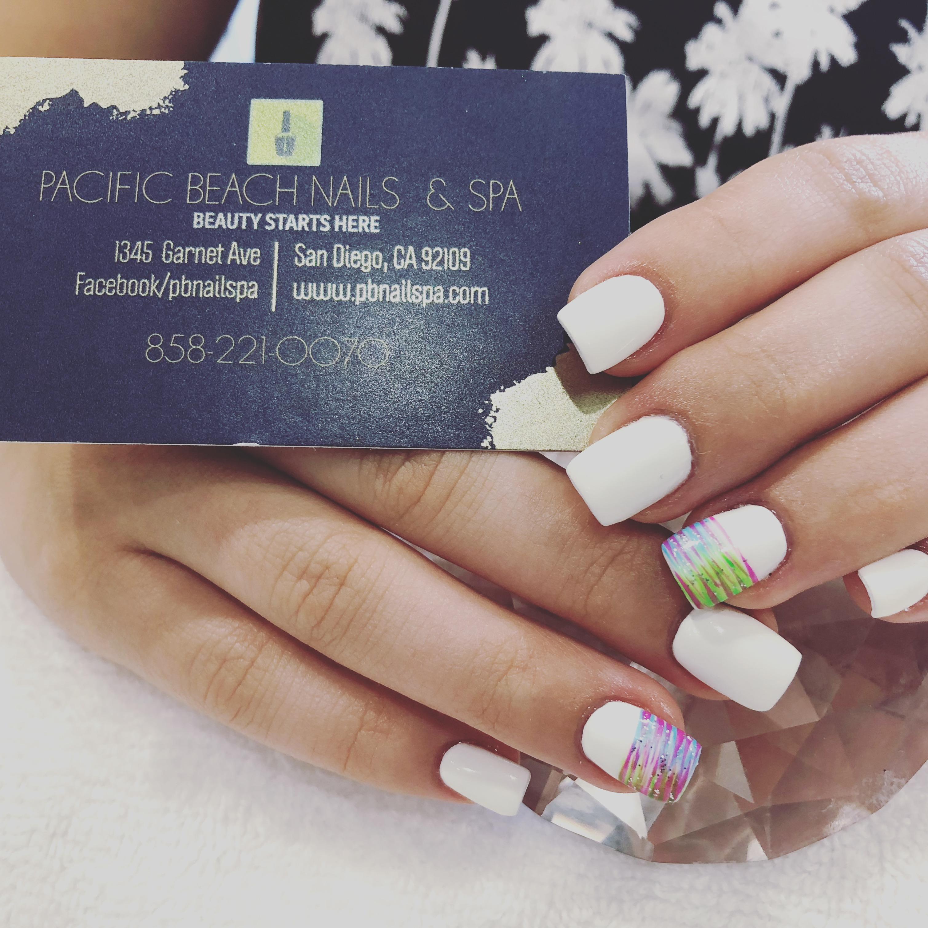 white nails color
