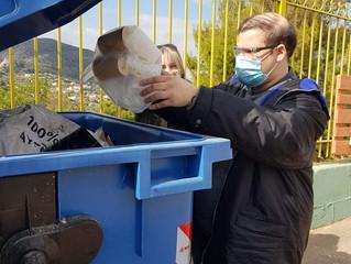 Ανακύκλωση στο χώρο του ΚΔΗΦ Α.με.Α. του Συλλόγου μας!