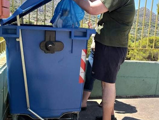 Ανακύκλωση στο ΚΔΗΦ Α.μεΑ. του Συλλόγου μας!