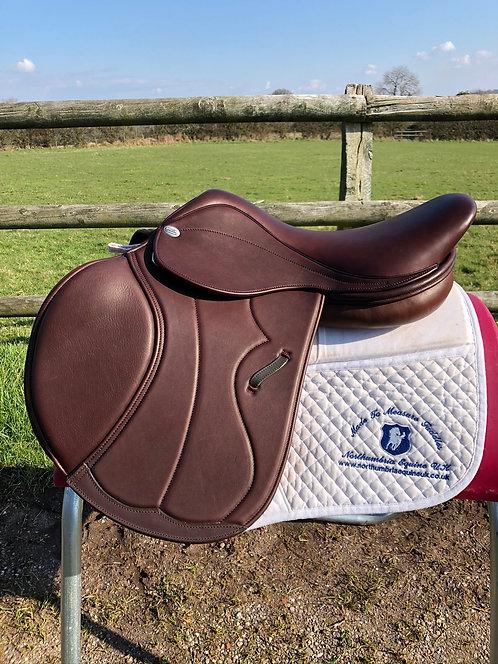 Harry Dabbs Platinum Italiano Standard Flap Jump Saddle