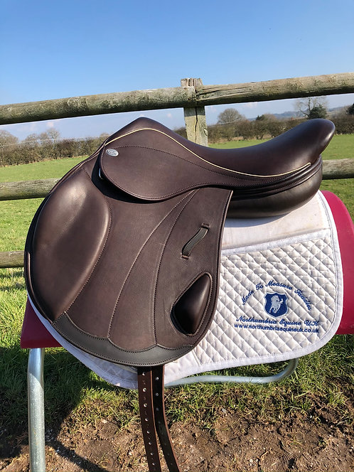 Harry Dabbs Platinum Italiano Monoflap Jump Saddle