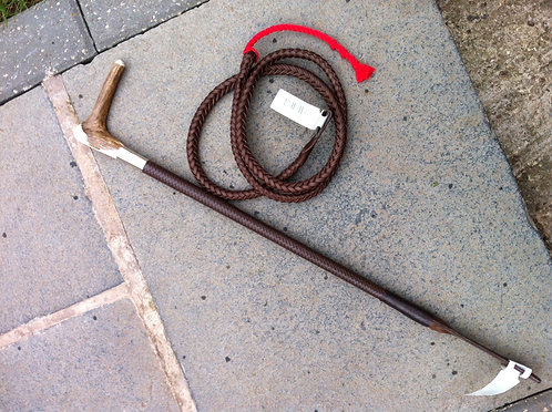 Ladies hunt whip
