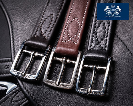 luxury Calf wrapped stirrup leathers