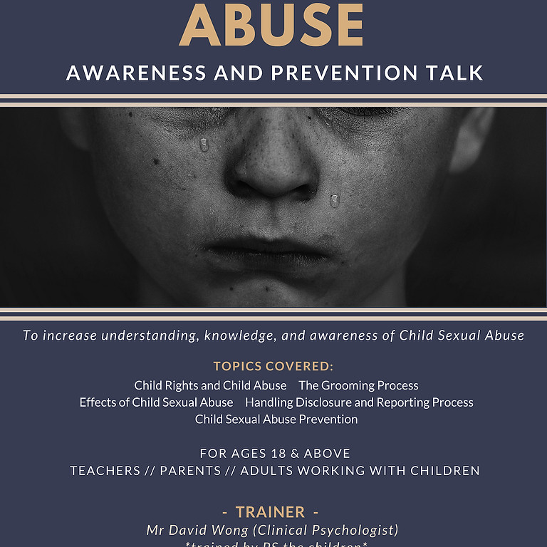 Child Sexual Abuse Prevention Talk (1)
